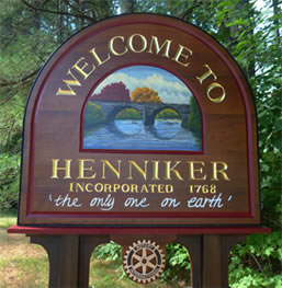 Welcome to Henniker